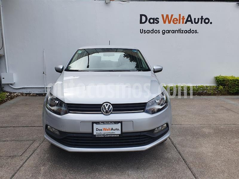 Volkswagen Polo Hatchback Design & Sound usado (2019) color Plata Reflex precio $224,900
