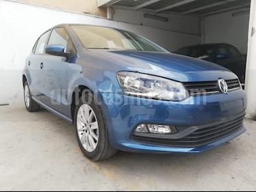 Volkswagen Polo Hatchback 1.6L Tiptronic usado (2018) color Azul precio $184,900