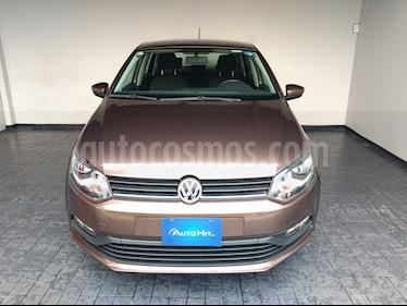 Volkswagen Polo Hatchback Sound Tiptronic usado (2018) color Marron precio $206,000