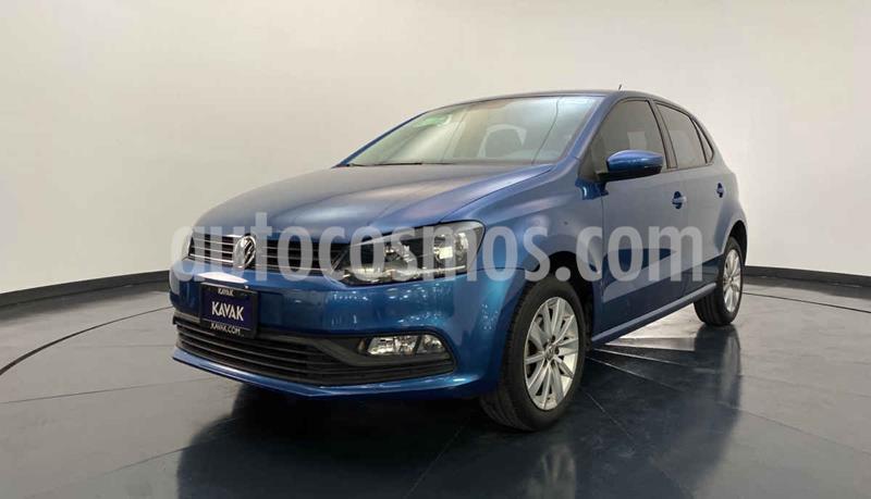 Volkswagen Polo Hatchback 1.6L usado (2018) color Azul precio $204,999