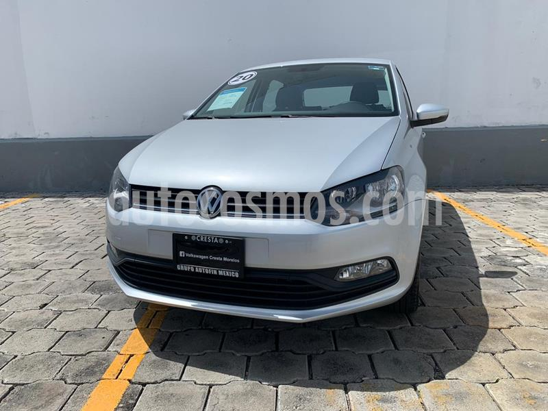 Volkswagen Polo Hatchback Design & Sound usado (2020) color Plata Reflex precio $233,900