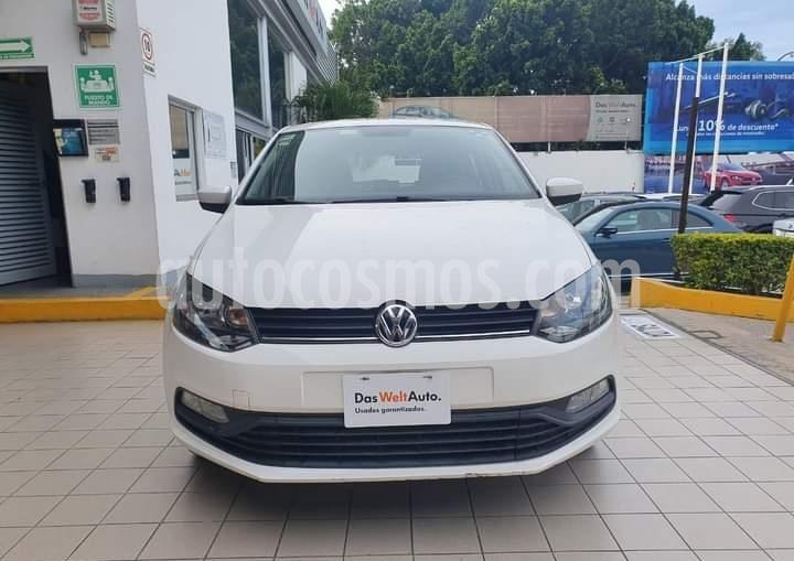 Volkswagen Polo Hatchback 1.6L Tiptronic usado (2015) color Blanco Candy precio $149,900