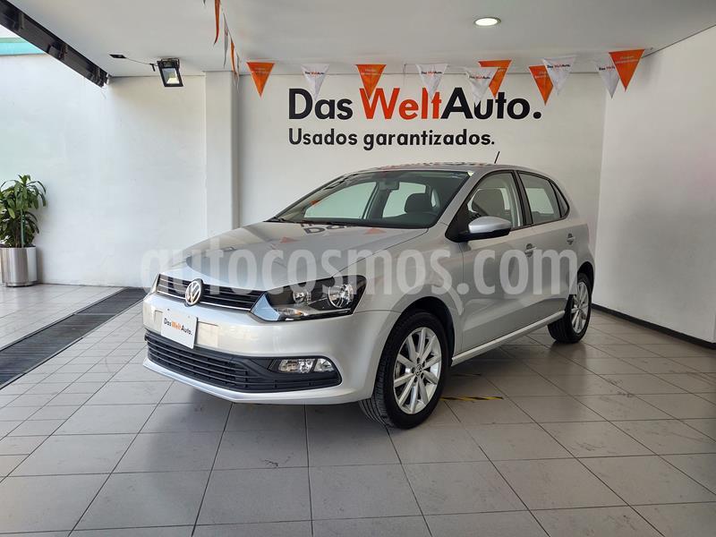 Volkswagen Polo Hatchback Design & Sound usado (2020) color Plata Reflex precio $219,000
