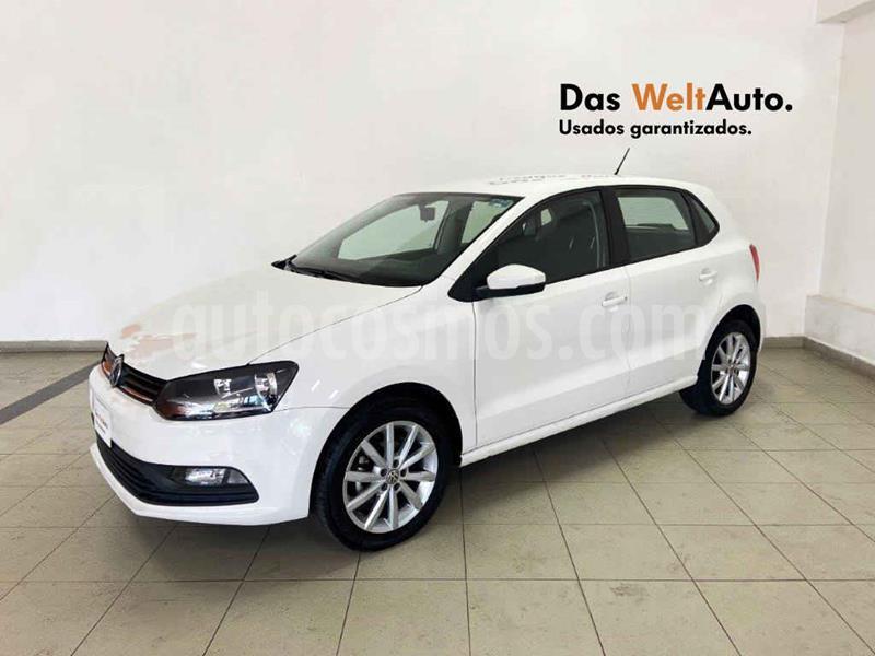 Volkswagen Polo Hatchback Disign & Sound Tiptronic usado (2020) color Blanco precio $218,281