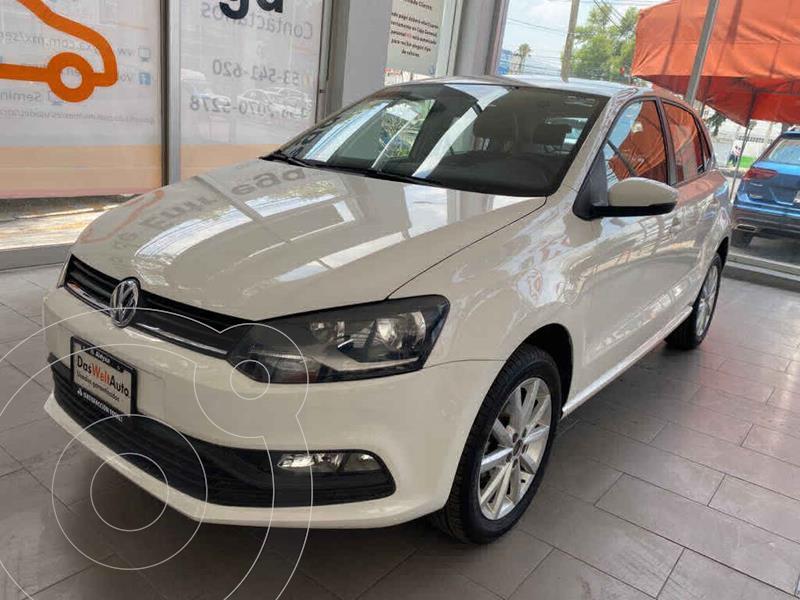Foto Volkswagen Polo Hatchback Disign & Sound Tiptronic usado (2020) color Blanco precio $235,000