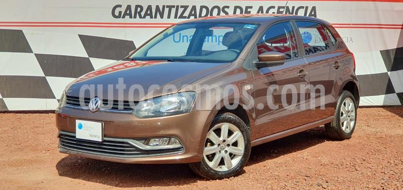 Volkswagen Polo Hatchback 1.6L Tiptronic usado (2016) color Marron precio $155,000