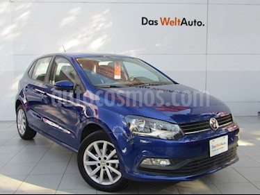 Volkswagen Polo Hatchback Disign & Sound Tiptronic usado (2019) color Azul precio $229,000
