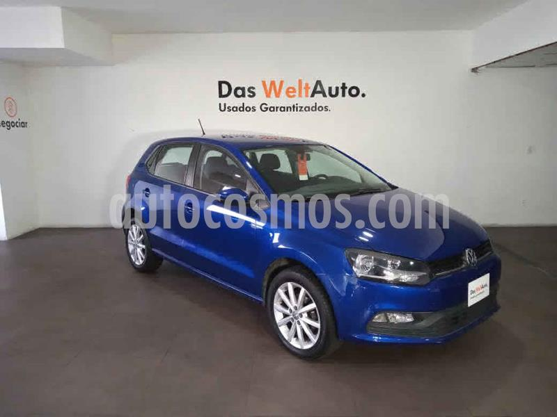 Volkswagen Polo Hatchback Disign & Sound Tiptronic usado (2020) color Azul precio $215,000