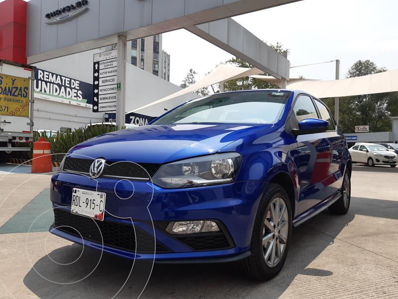 Foto Volkswagen Polo Hatchback Comfortline Plus usado (2020) color Azul Metalico precio $254,000