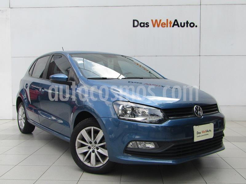 Volkswagen Polo Hatchback 1.6L Tiptronic usado (2018) color Azul precio $179,000