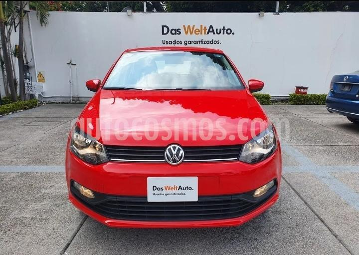 Volkswagen Polo Hatchback Disign & Sound Tiptronic usado (2020) color Rojo precio $234,900