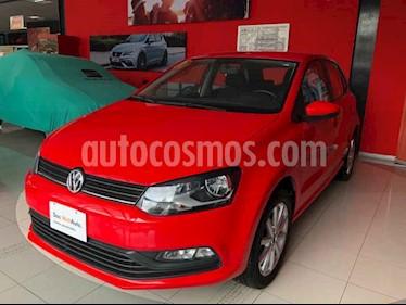 Volkswagen Polo Hatchback Design & Sound usado (2019) color Rojo precio $210,000