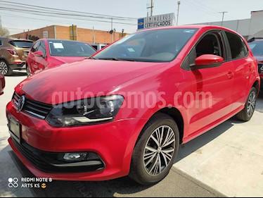 Volkswagen Polo Hatchback Allstar usado (2017) color Rojo precio $175,000