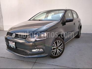 Volkswagen Polo Hatchback Allstar Aut usado (2018) color Gris precio $190,000