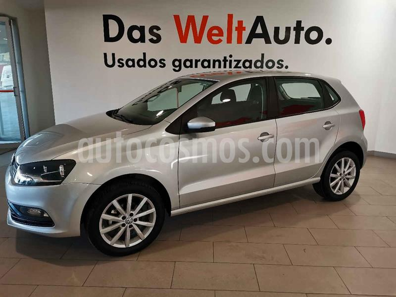 Volkswagen Polo Hatchback Disign & Sound Tiptronic usado (2020) color Plata precio $225,500