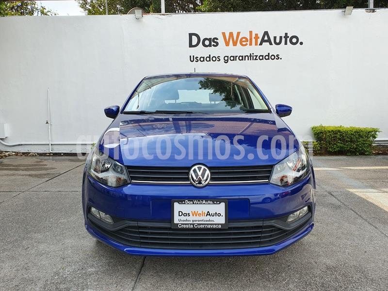 Volkswagen Polo Hatchback Design & Sound usado (2020) color Azul precio $234,900