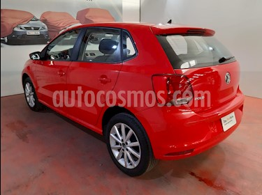 Volkswagen Polo Hatchback Disign & Sound Tiptronic usado (2019) color Rojo precio $222,000