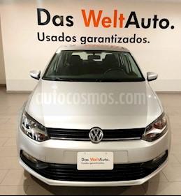 Volkswagen Polo Hatchback Design & Sound usado (2019) color Plata precio $209,000