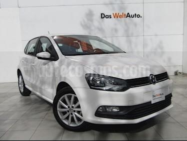 Volkswagen Polo Hatchback Disign & Sound Tiptronic usado (2019) color Blanco precio $219,000