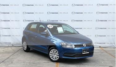 Foto venta Auto usado Volkswagen Polo Hatchback Startline Tiptronic (2018) color Azul precio $200,000