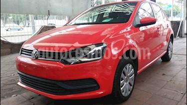 Volkswagen Polo Hatchback Startline usado (2019) color Rojo precio $179,900