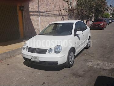 Volkswagen Polo 1.6L Base 4P Ac usado (2006) color Blanco precio $57,000