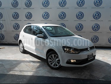 Foto Volkswagen Polo 1.6L Base 4P Ac usado (2018) color Blanco precio $199,000