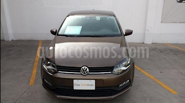 Foto venta Auto usado Volkswagen Polo 1.6L Base 4P Ac (2018) color Cafe precio $199,000