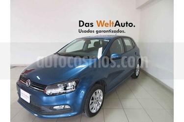 Foto venta Auto usado Volkswagen Polo 1.6L Base 4P (2018) color Azul precio $209,475
