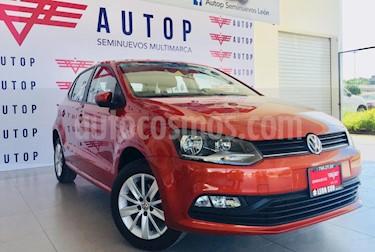 Volkswagen Polo 1.6L Base 4P usado (2018) color Naranja precio $204,000