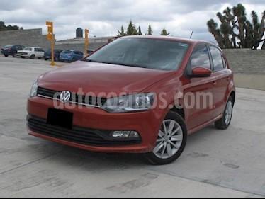Foto venta Auto usado Volkswagen Polo 1.6L Base 4P (2017) color Naranja precio $320,000