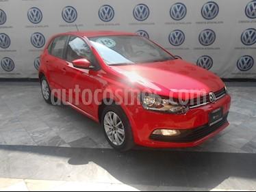 Foto Volkswagen Polo 1.6L Base 4P usado (2018) color Rojo precio $209,000