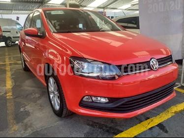Foto venta Auto usado Volkswagen Polo 1.6L Base 4P (2018) color Rojo precio $196,900