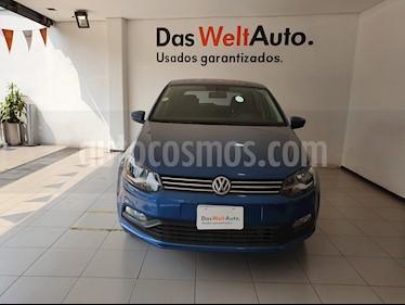 Foto venta Auto usado Volkswagen Polo 1.6L Base 4P (2018) color Azul precio $218,900