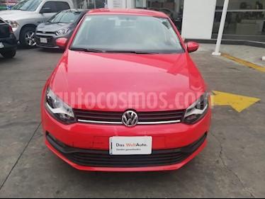 Foto venta Auto Seminuevo Volkswagen Polo 1.6L Base 5P Ac (2018) color Rojo precio $215,000
