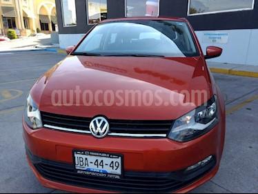 Foto venta Auto Seminuevo Volkswagen Polo 1.6L Base 5P Ac (2018) color Naranja precio $217,000