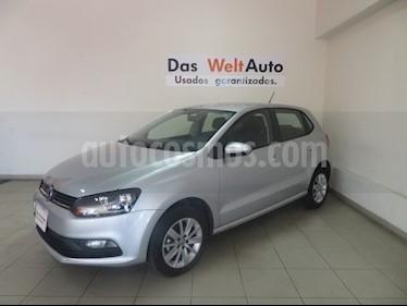 Foto venta Auto usado Volkswagen Polo 1.6L Base 5P Ac (2018) color Plata precio $197,106