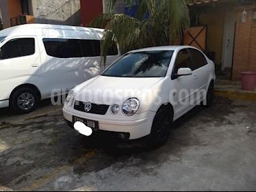 Foto venta Auto usado Volkswagen Polo 1.6L Base 5P Ac (2005) color Blanco precio $62,000
