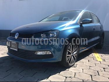 Foto Volkswagen Polo 1.6L Base 5P Ac usado (2018) color Azul precio $220,000