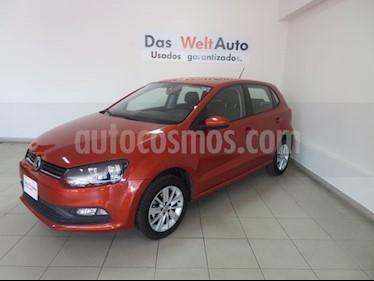 Foto venta Auto usado Volkswagen Polo 1.6L Base 5P Ac (2018) color Naranja precio $207,997