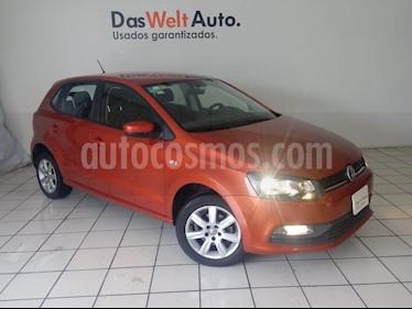 Foto venta Auto Seminuevo Volkswagen Polo 1.6L Base 5P Ac (2015) color Naranja precio $159,900