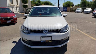 Foto venta Auto usado Volkswagen Polo 1.6L Base 5P Ac (2018) color Blanco precio $162,900