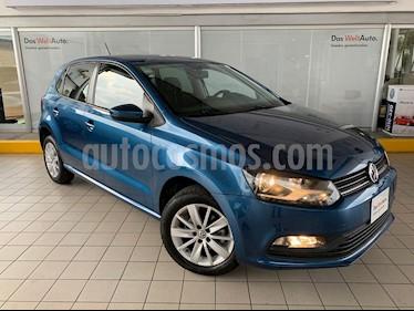 Foto venta Auto usado Volkswagen Polo 1.6L Base 5P Ac (2018) color Azul precio $199,900