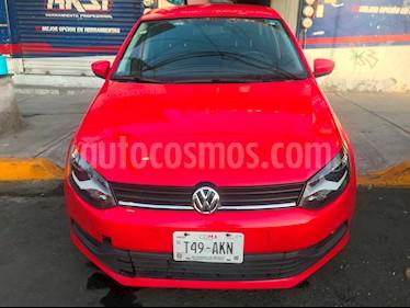 Volkswagen Polo 1.6L Base 5P Ac usado (2017) color Rojo precio $159,900