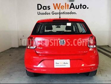 Foto venta Auto usado Volkswagen Polo 1.6L Base 5P (2019) color Rojo precio $210,156