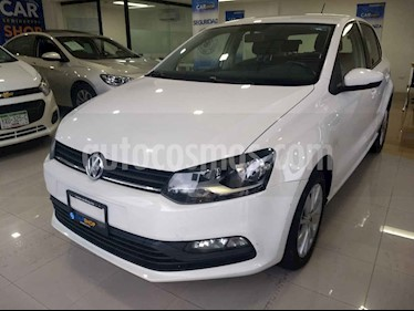 foto Volkswagen Polo 1.6L Base 5P usado (2018) color Blanco precio $158,900