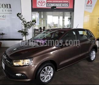Foto venta Auto Seminuevo Volkswagen Polo 1.6L Base 5P (2017) color Marron precio $175,000