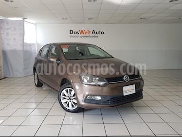 Foto venta Auto usado Volkswagen Polo 1.6L Base 5P (2018) color Marron precio $209,900