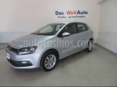 Foto venta Auto usado Volkswagen Polo 1.6L Base 5P (2018) color Plata precio $212,019