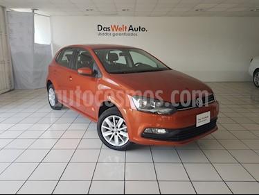 Foto venta Auto usado Volkswagen Polo 1.6L Base 5P (2018) color Naranja precio $209,900